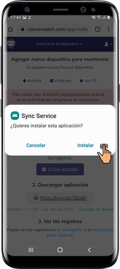 Como-instalar-Hoverwatch-para-Android