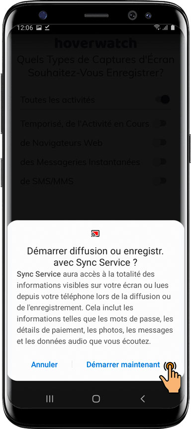 Comment installer Hoverwatch pour Android