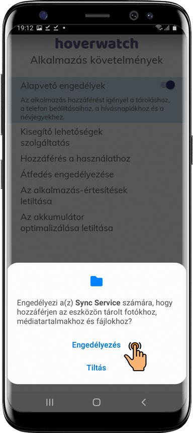 Nyissa meg és telepítse a Hoverwatch alkalmazást