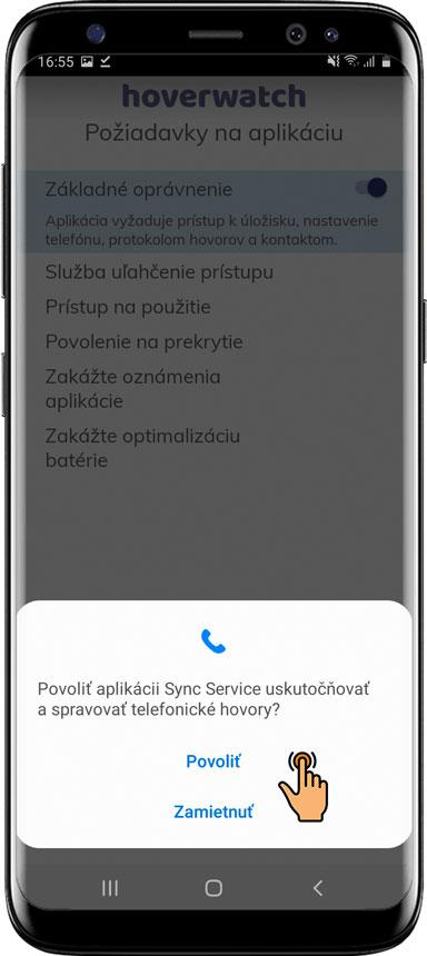 Ako nainštalovať Hoverwatch na Android