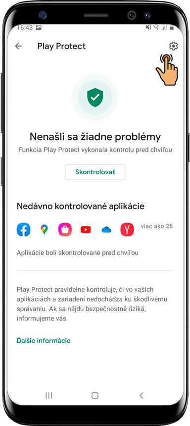 Ako vypnúť službu Google Play Protect