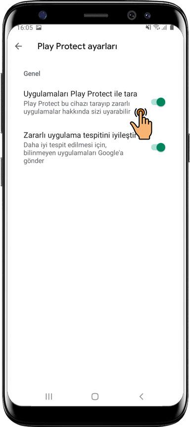 Play Protect Google hizmeti nasıl devre dışı bırakılır