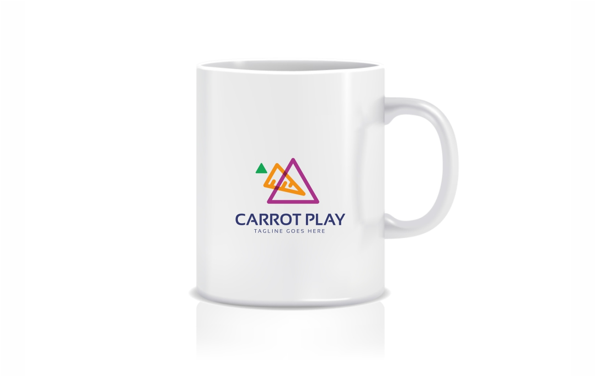 Carrot Play Logo Template