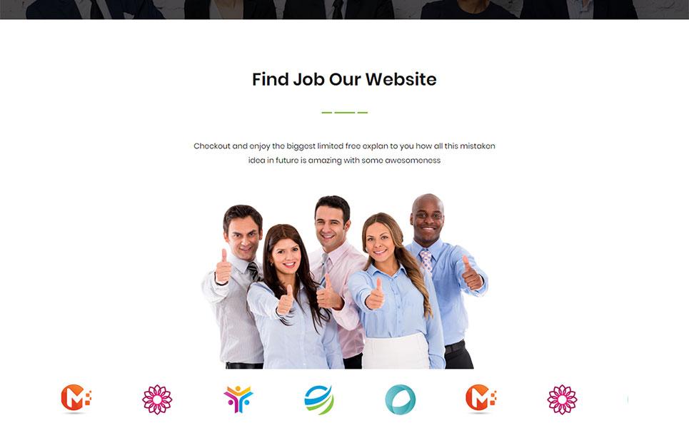 JobPress Website Template