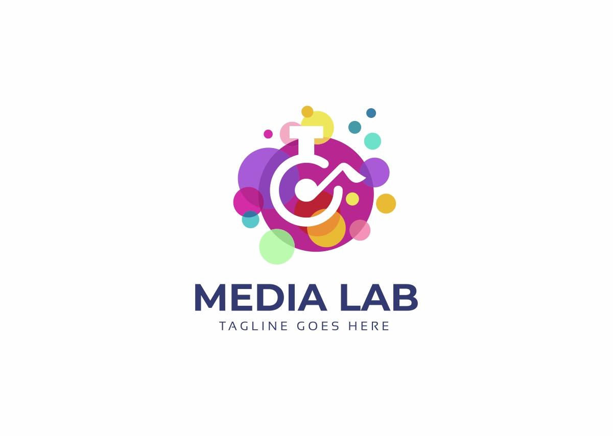 Media Lab Logo Template