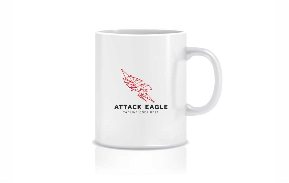 Eagle Attack Logo Template