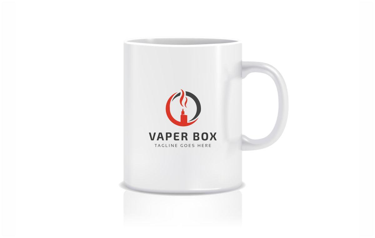 Vape Box Logo Template