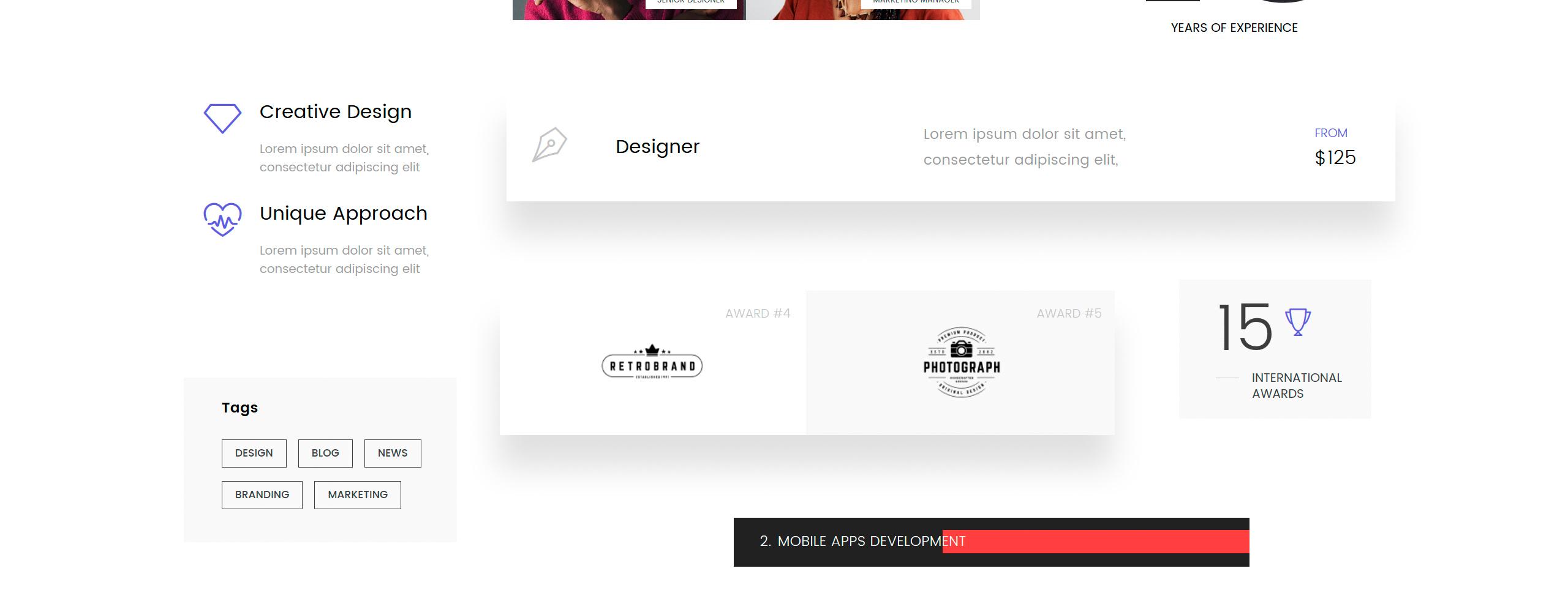 iStudio Website Template