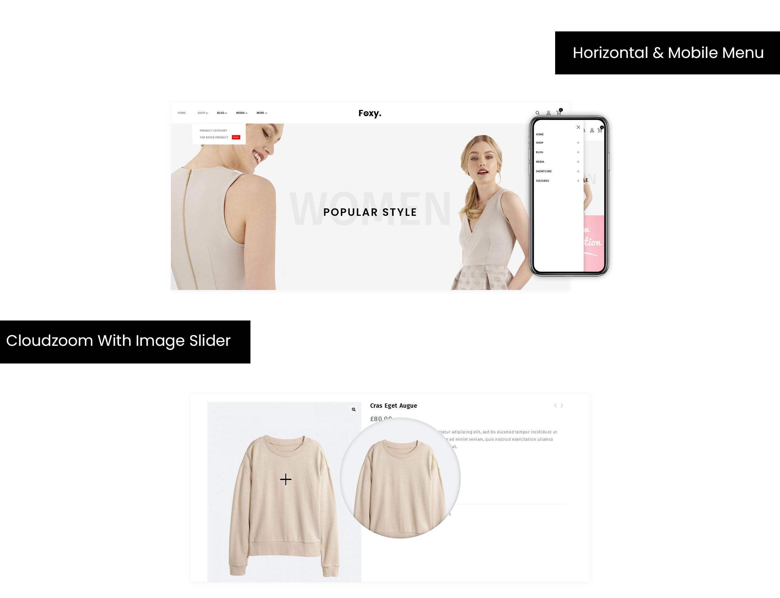 Foxy - Multipurpose Shop WooCommerce Theme