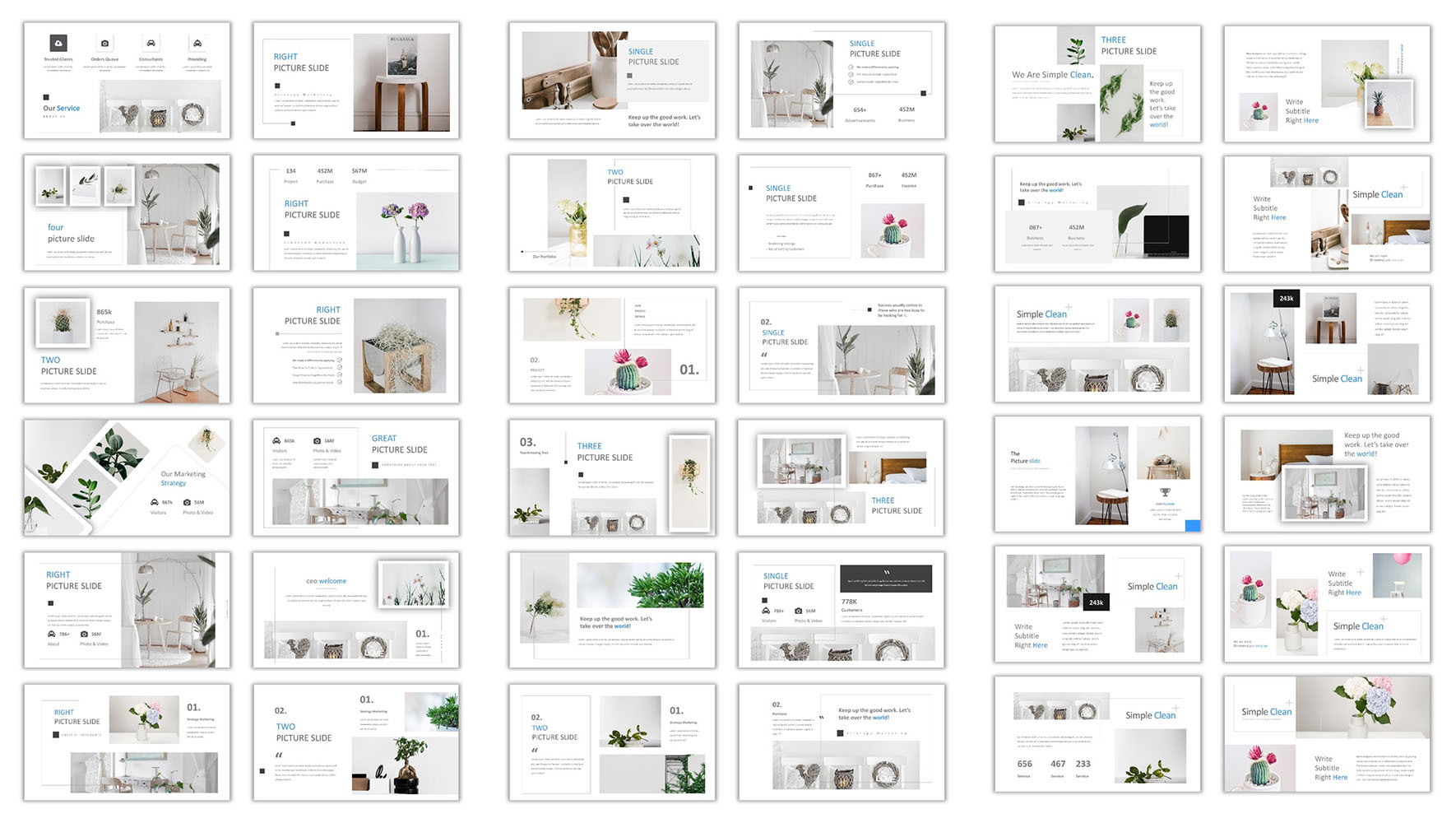 Simple Clean PowerPoint Template