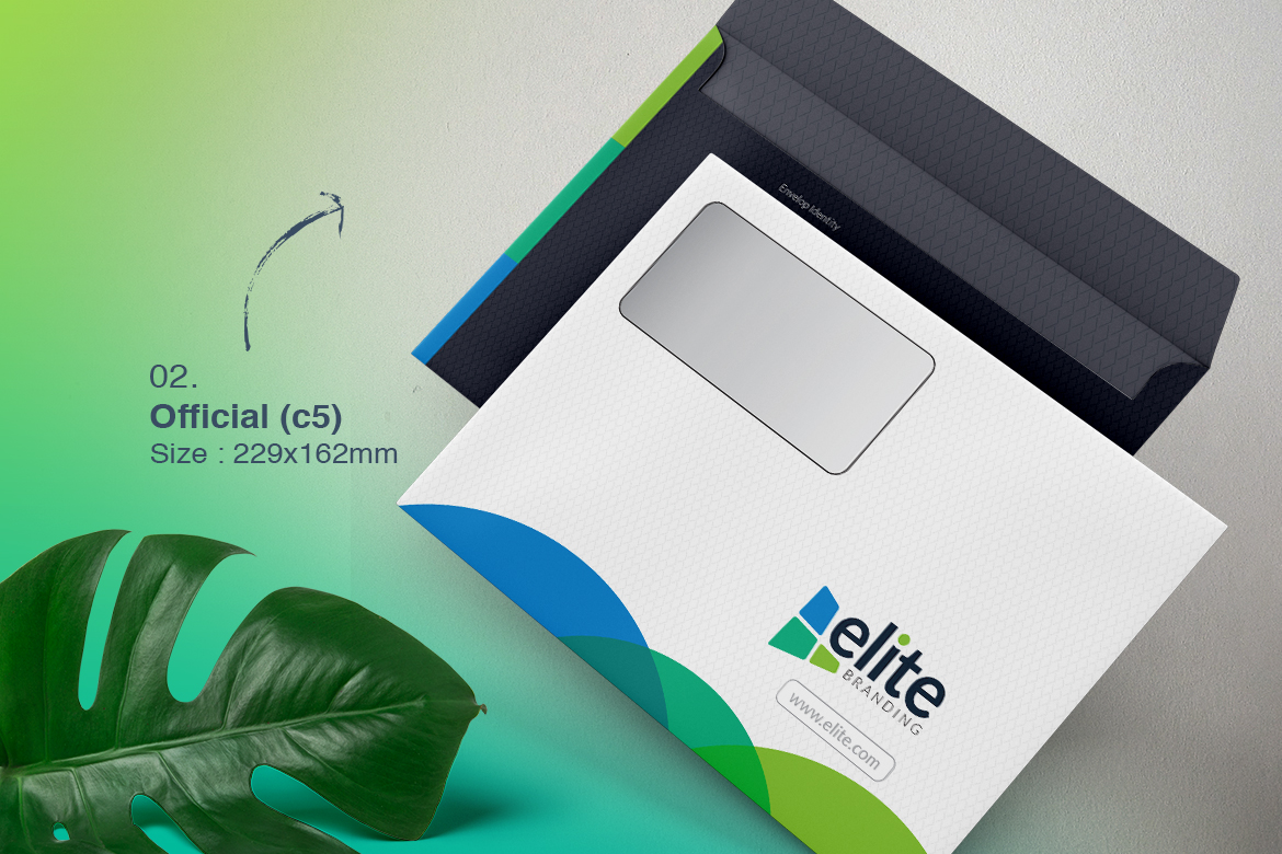 Business Envelope Bundle Corporate Identity