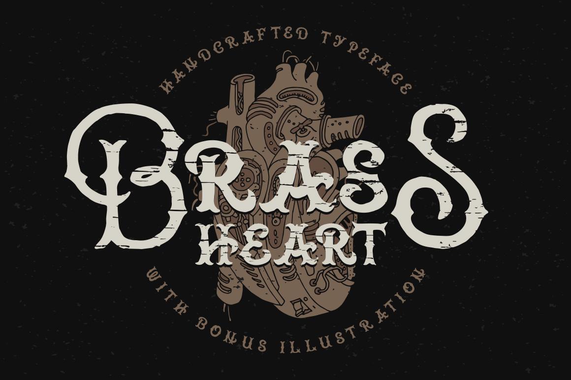Brass Heart Fonts
