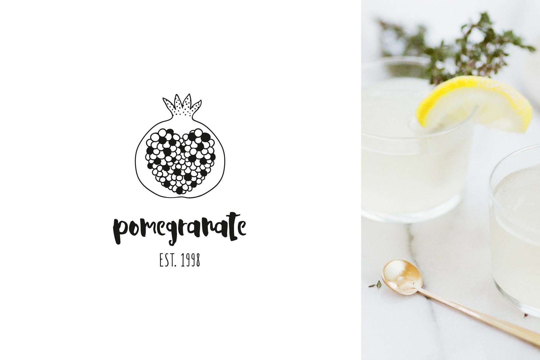 DELICIOUS Premade Logo Set Logo Template