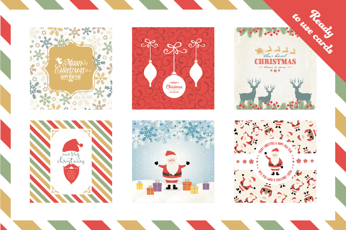 Vector Christmas Collection Illustrations