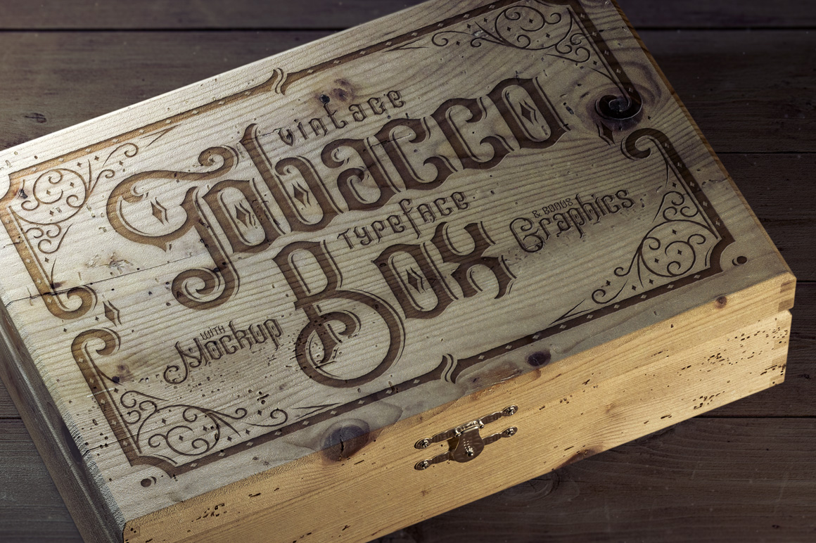 Tobacco Box Fonts