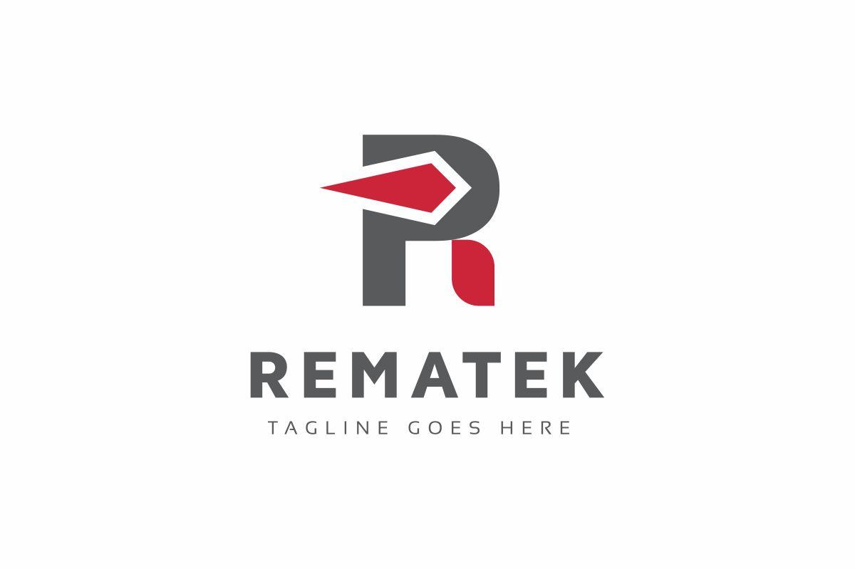Rematek R Letter Logo Template