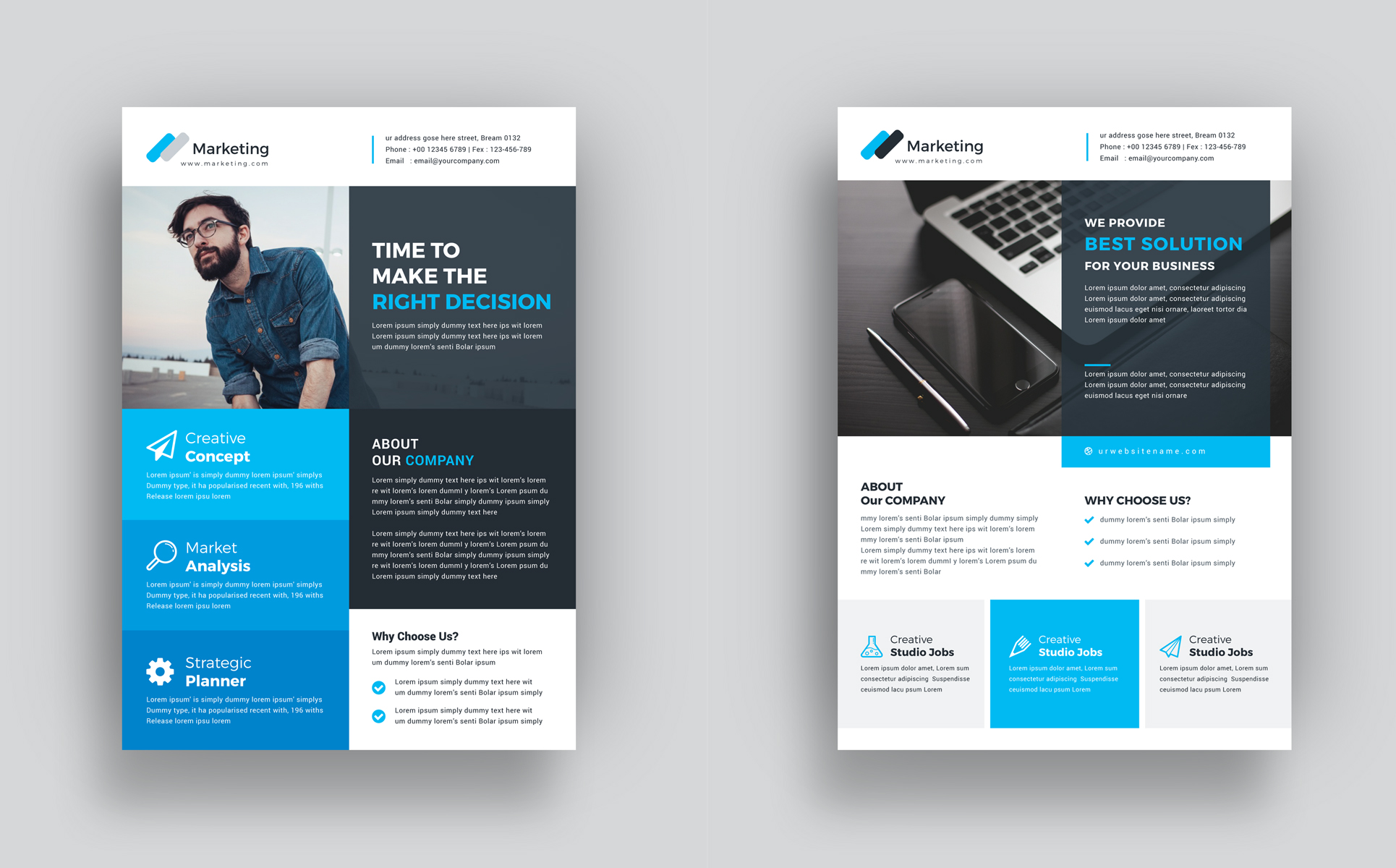 VOLUME 12 Print Ready Flyer - 2+ Items Included Corporate Identity