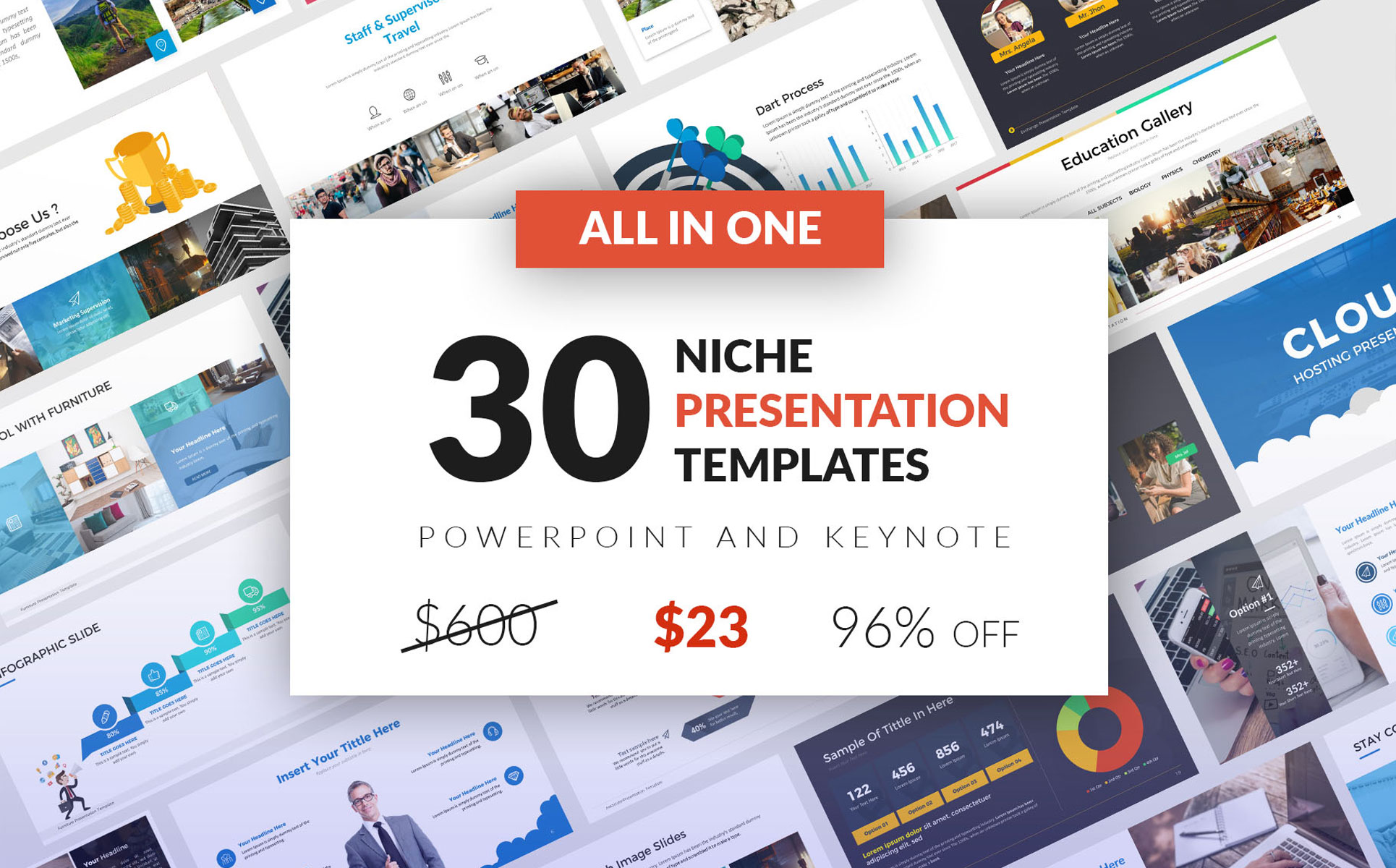 All-In-One 30 PowerPoint Template