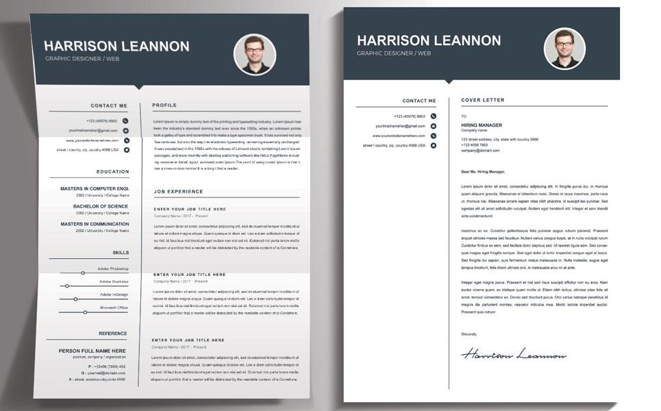 Harrison Leannon Resume Template