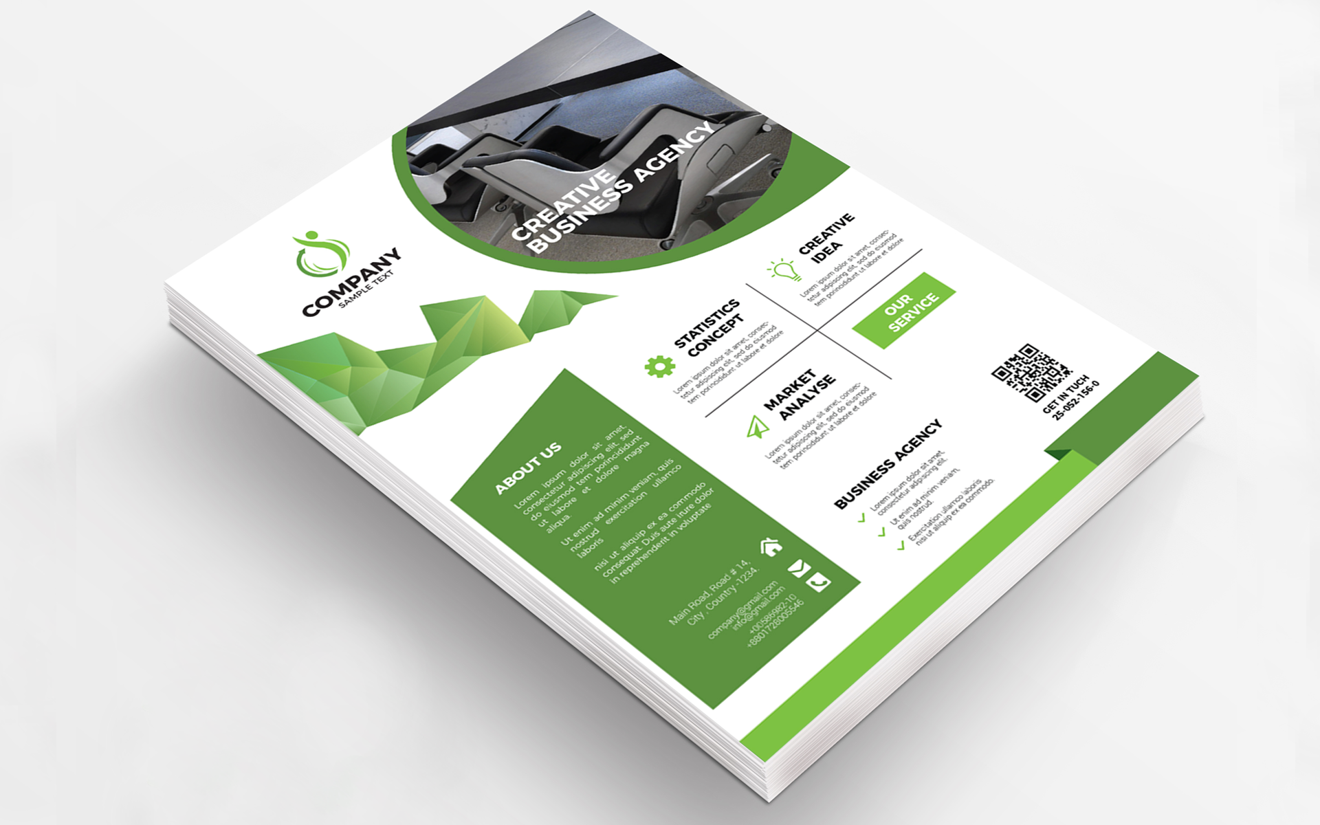 Agency Business Flyer Corporate Identity