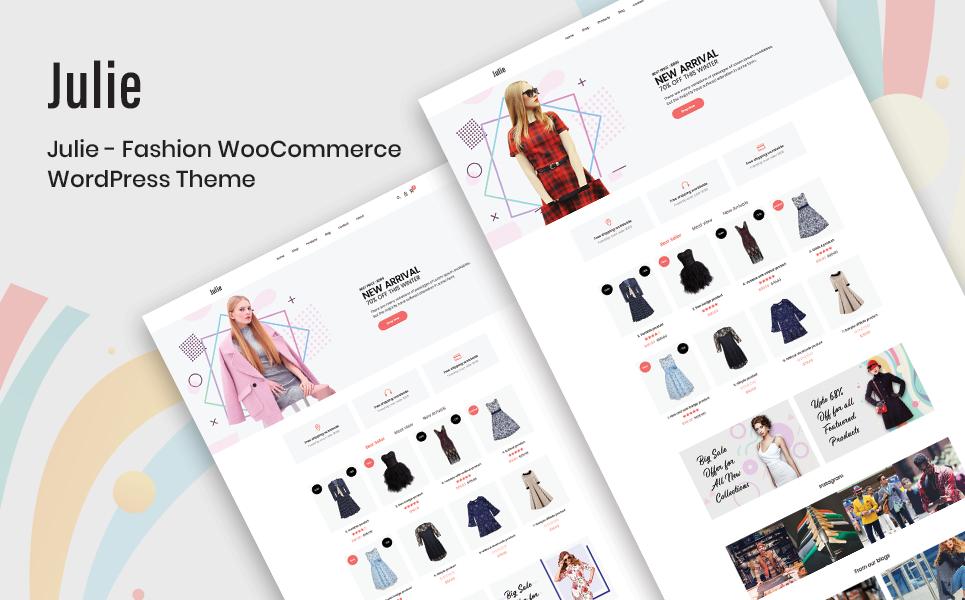Julie - Fashion WooCommerce Theme