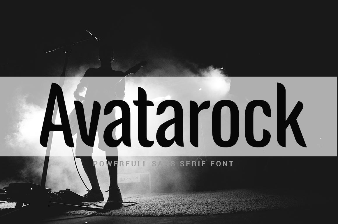 Avatarock Fonts