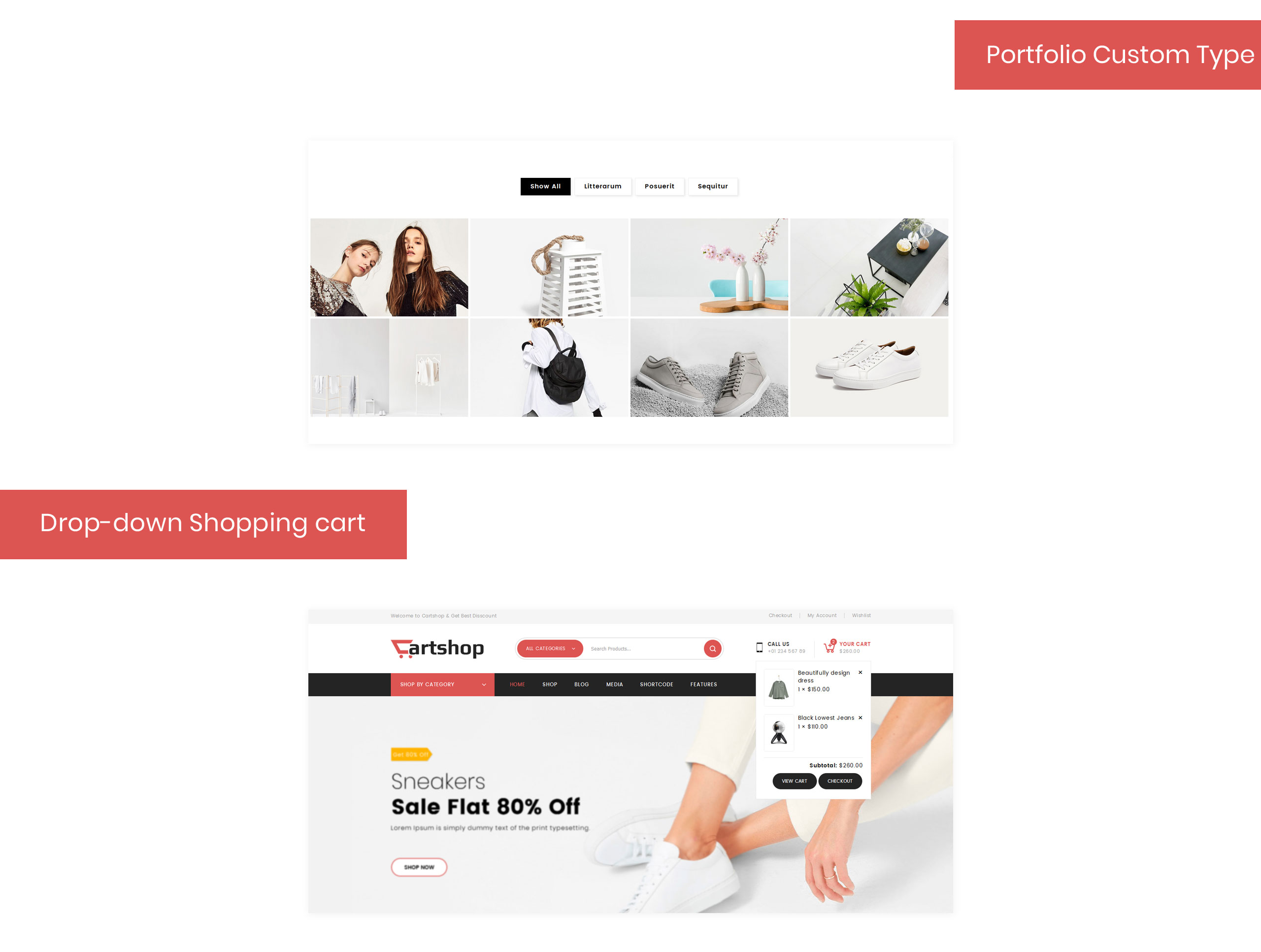 CartShop - Multipurpose Store WooCommerce Theme