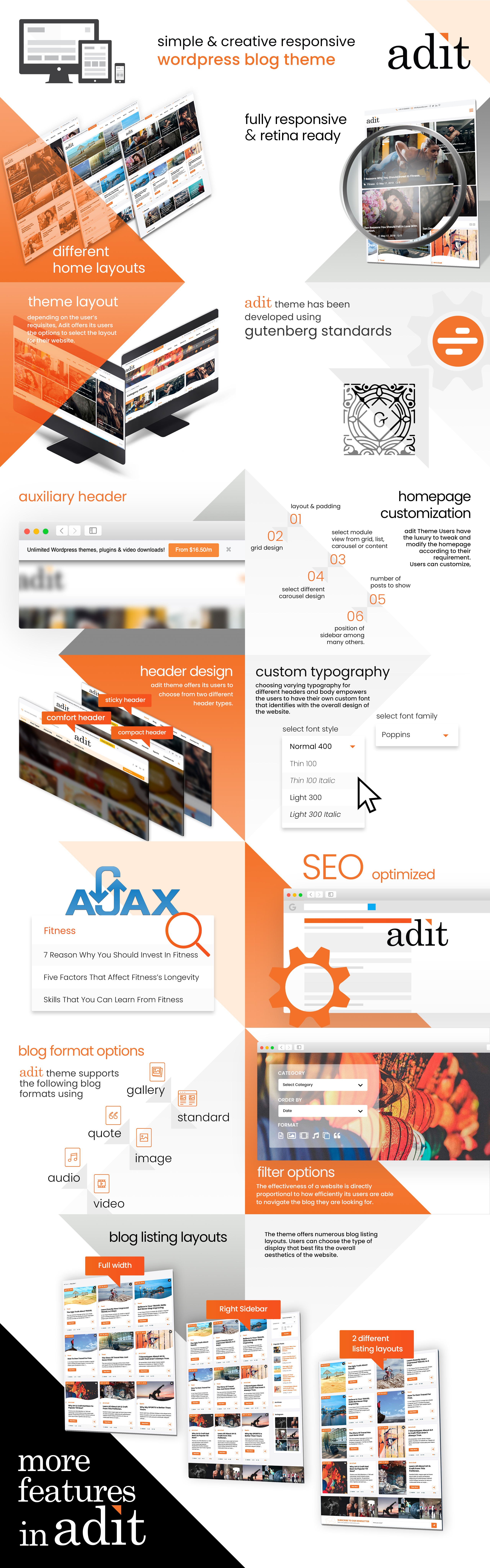 Adit WordPress Theme