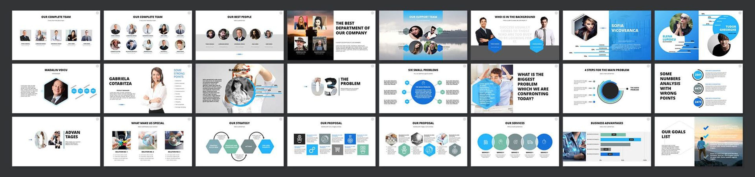 2020 Pitch Deck PowerPoint Template