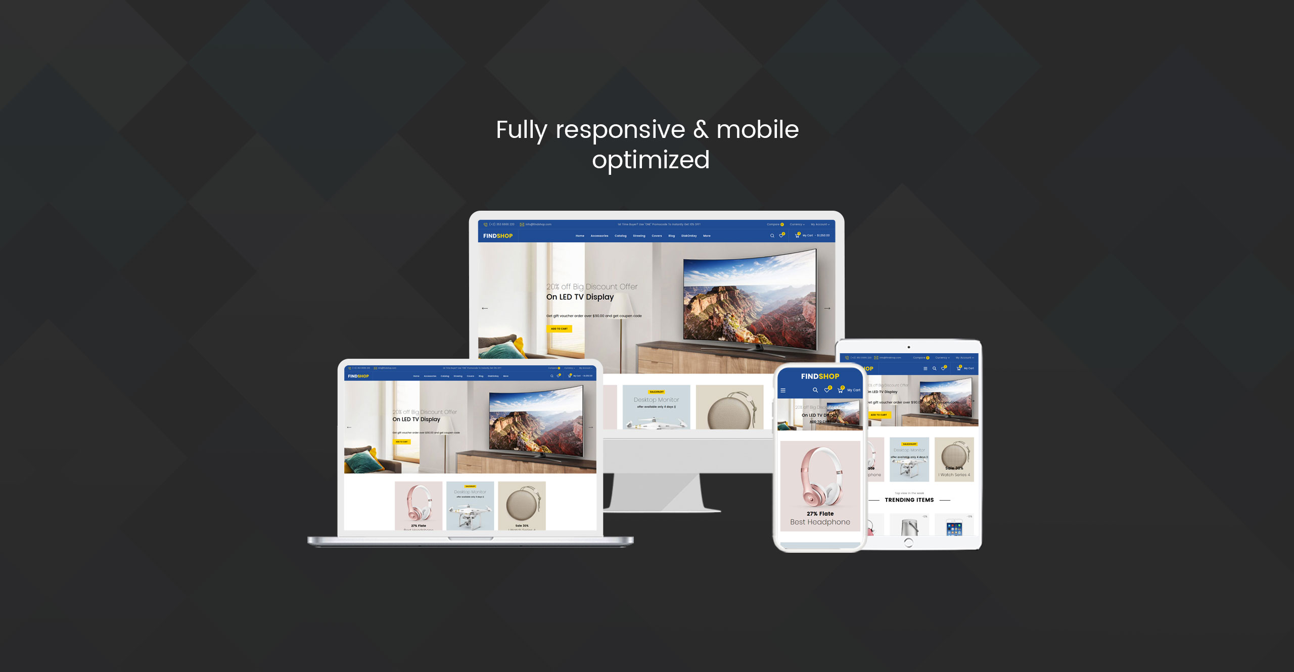 Findshop - Sectioned Multipurpose Store Shopify Theme