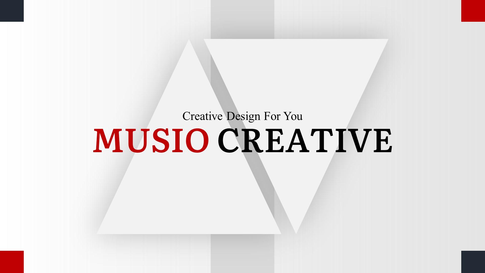 Musio Creative PowerPoint Template