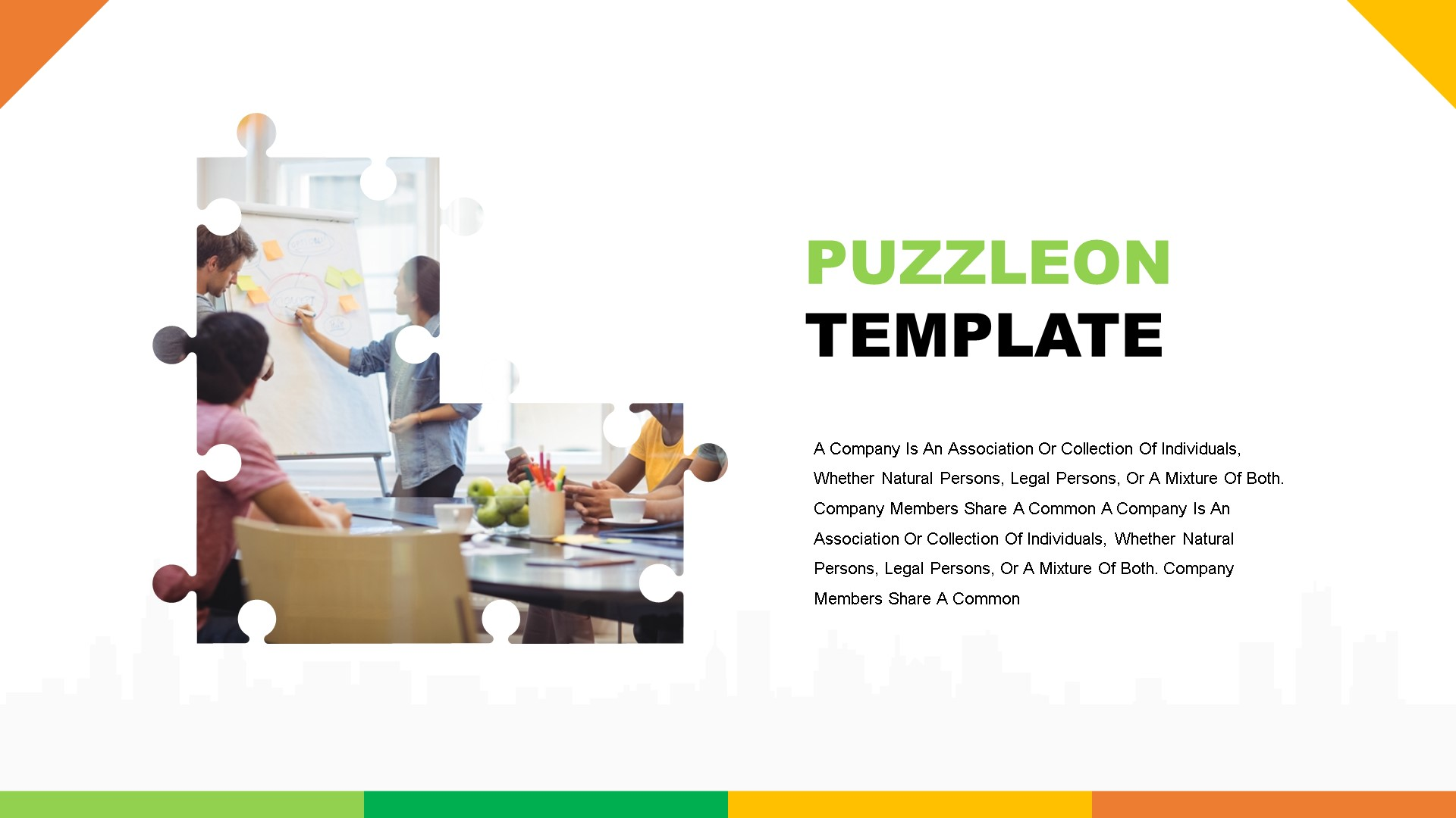Puzzleon PowerPoint Template