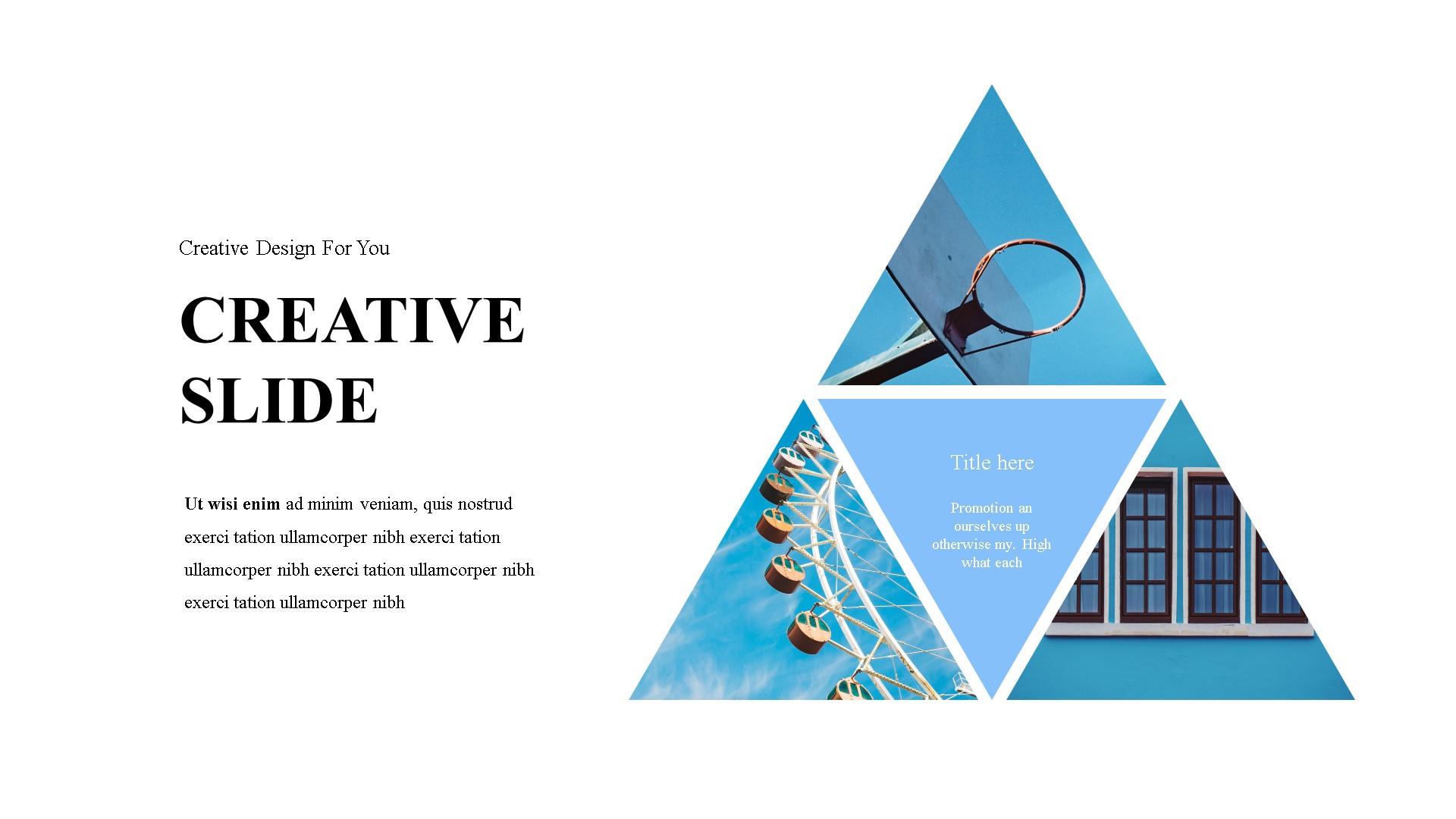 Triangleo PowerPoint Template