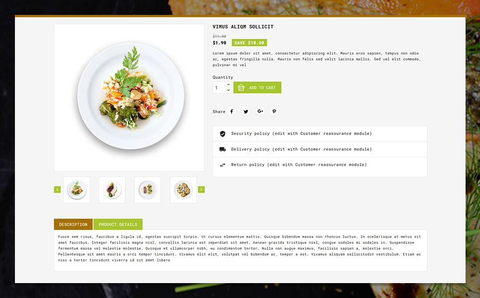 Smileat Food Store PrestaShop Theme