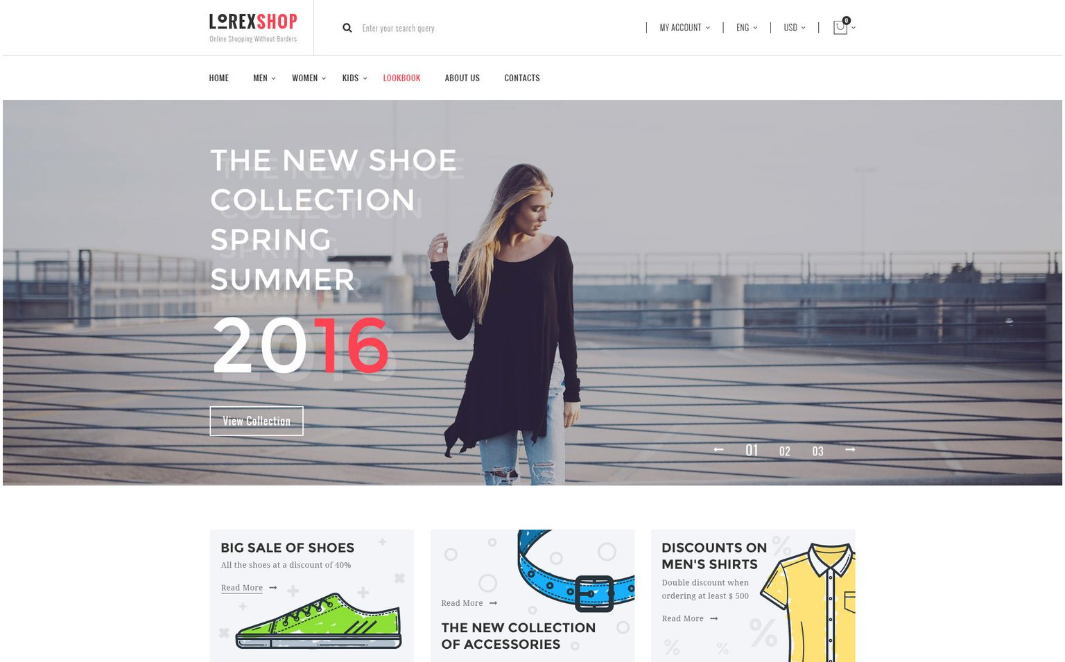 LOREX Fashion WooCommerce Theme