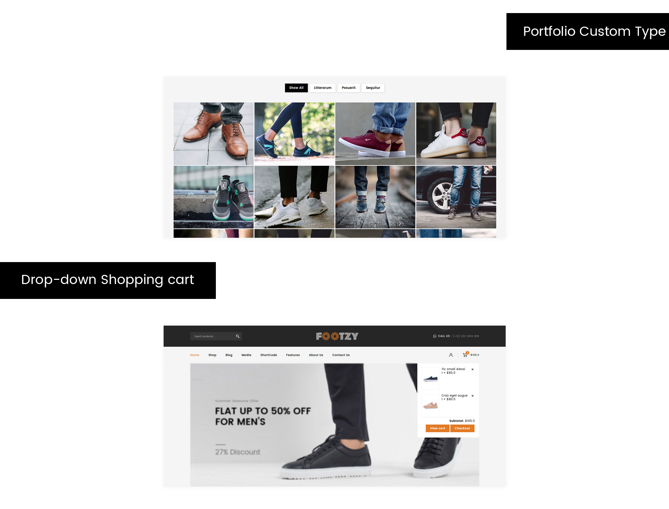 Footzy - Shoes Store WooCommerce Theme