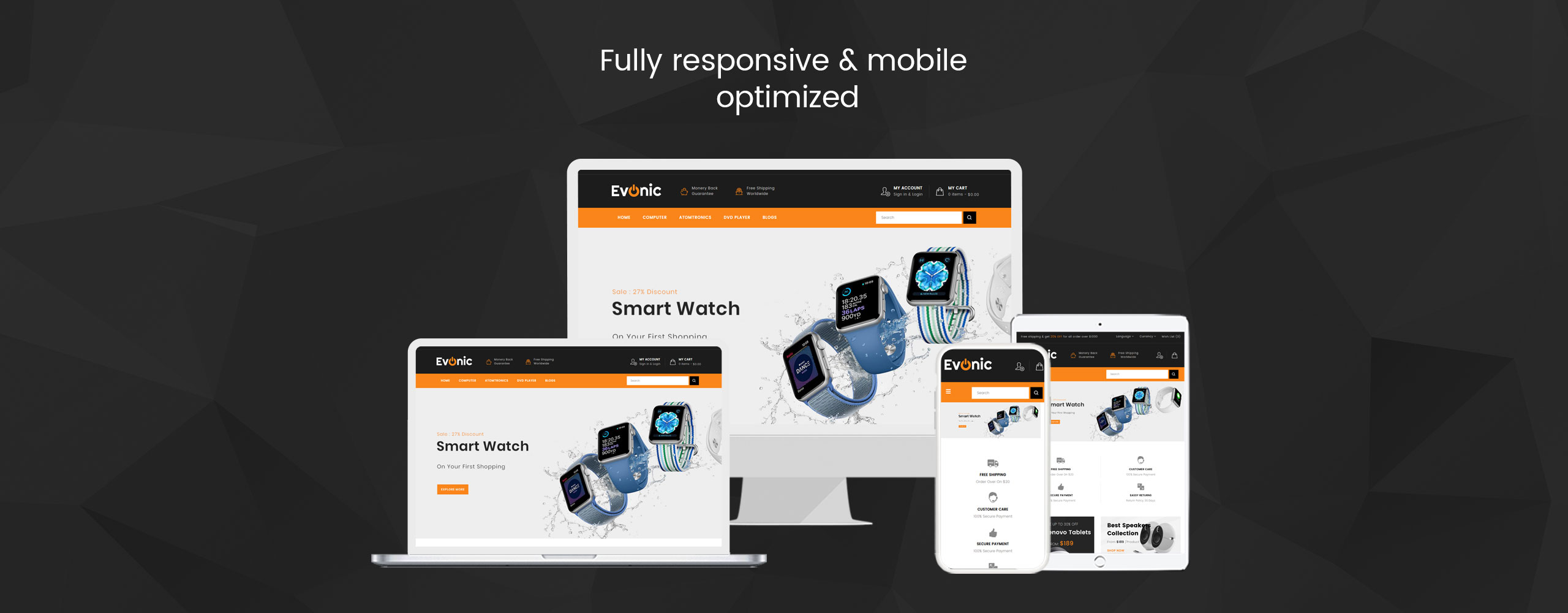 Evonic - Multipurpose Shop OpenCart Template