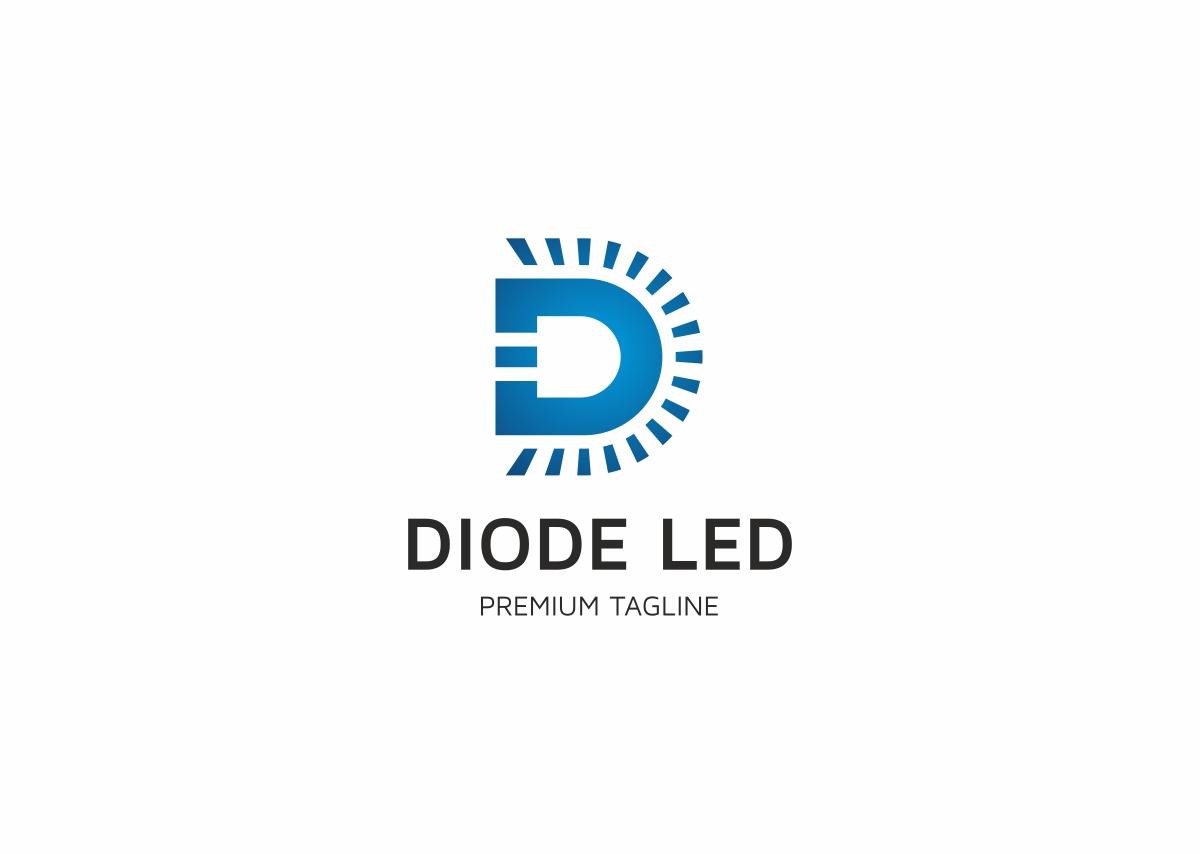 Diod Led Logo Template
