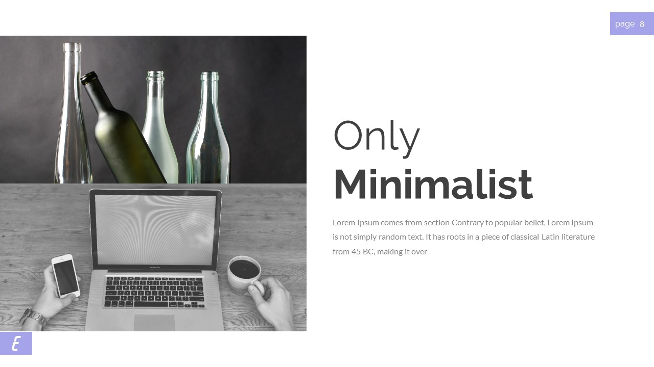 Ecelia Clean & Modern Presentation PowerPoint Template