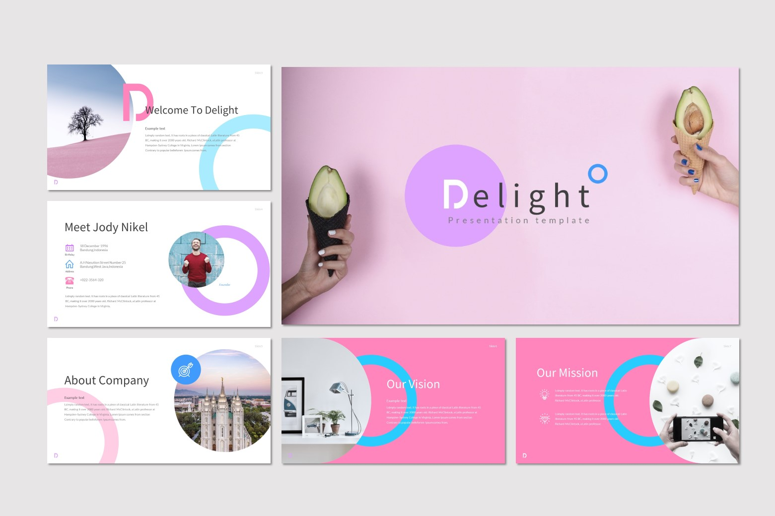 Delight Powerpoint Template