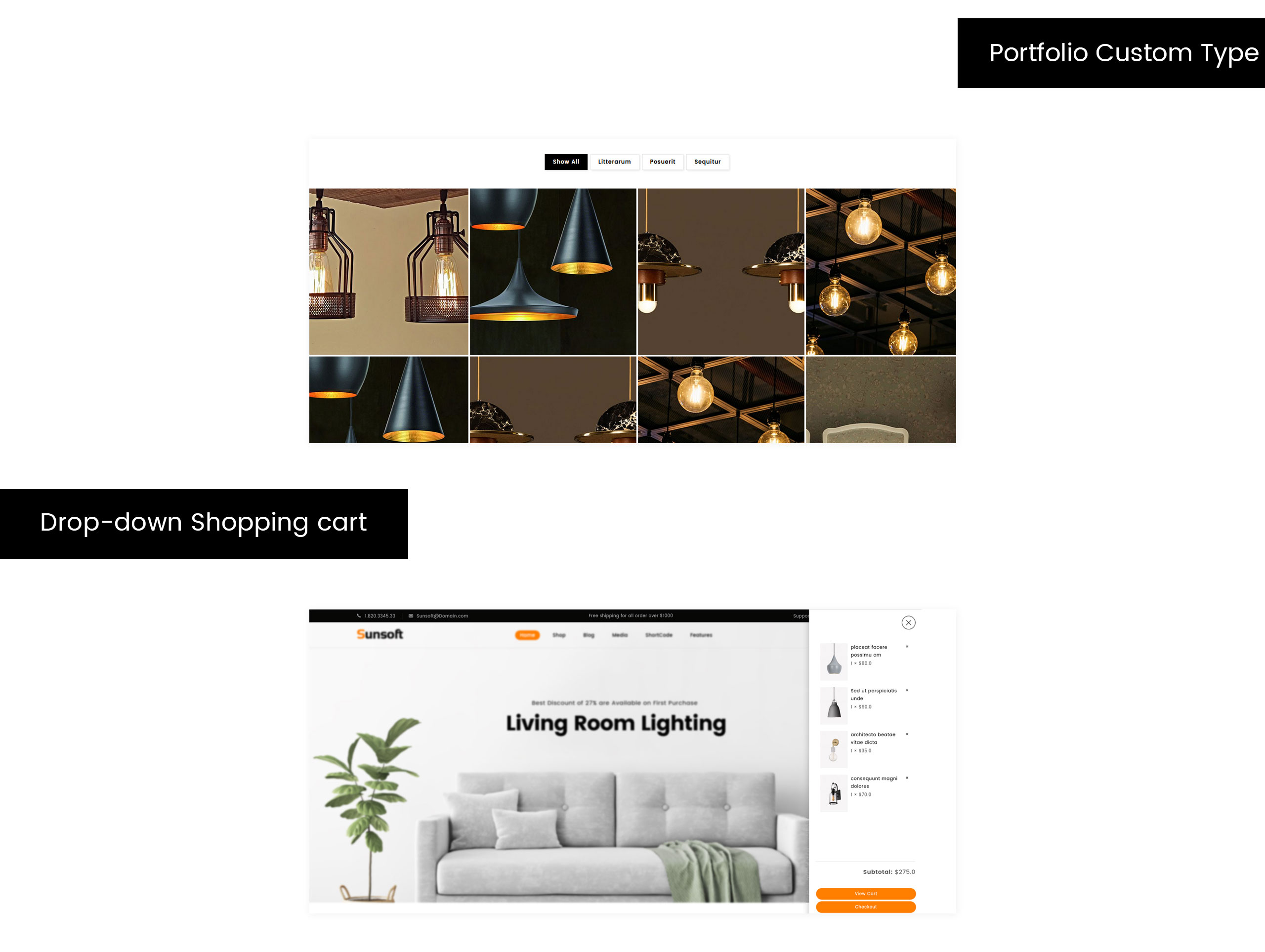 Sunsoft - Lighting Store WooCommerce Theme
