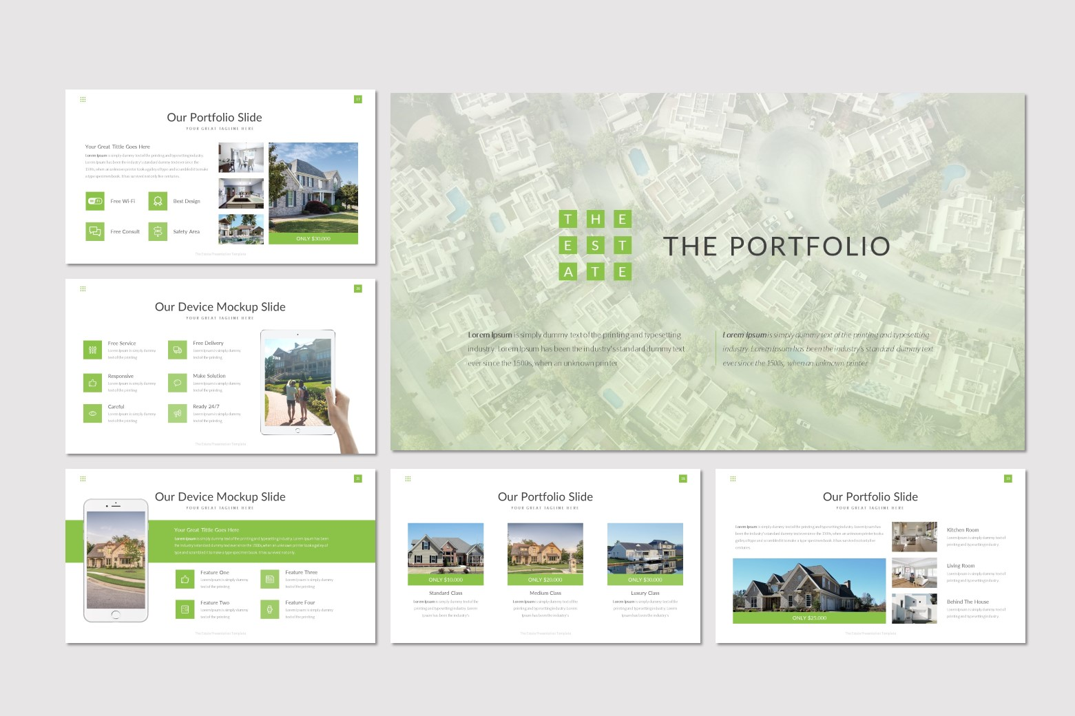 The Estate Powerpoint Template Buy For 17 Id 83789