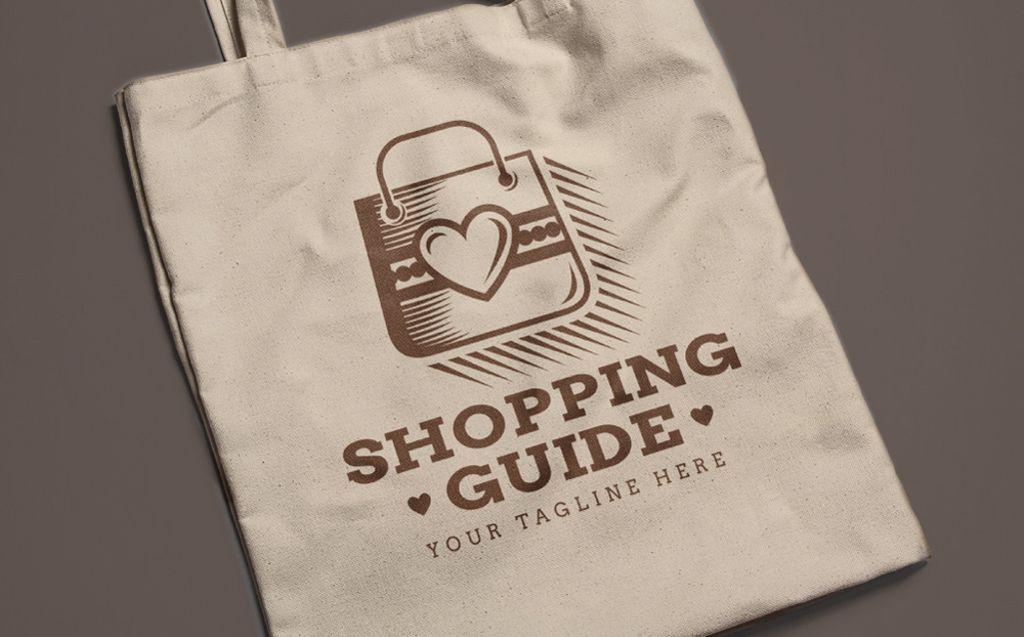 Shopping Guide  - Logo Template
