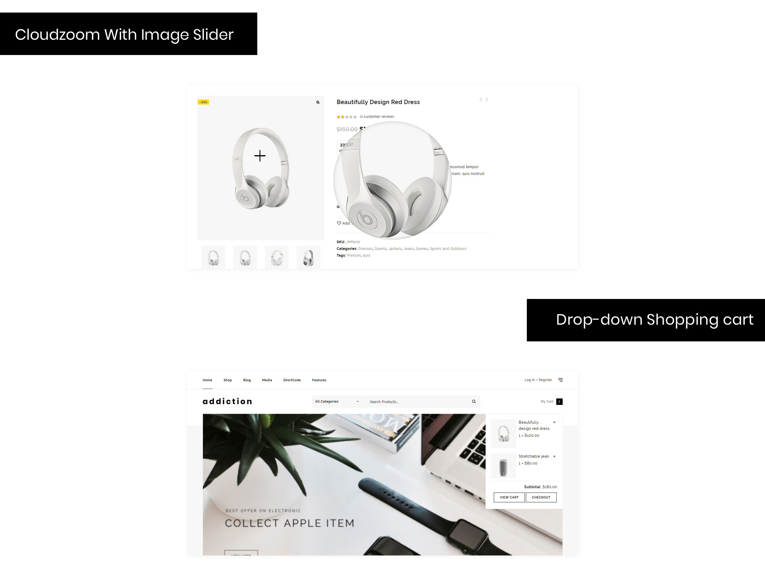 Addiction - Multipurpose Store WooCommerce Theme