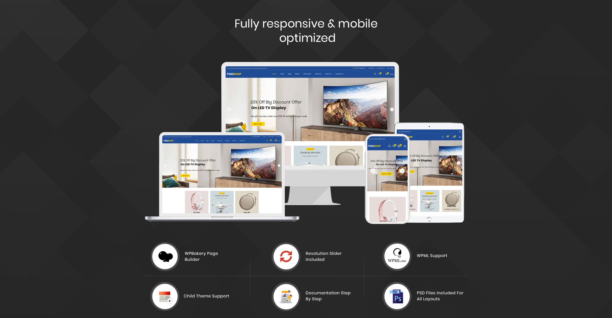 Findshop - Mega Store WooCommerce Theme