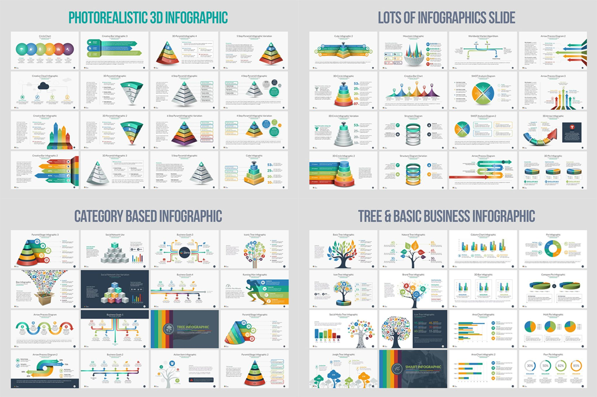 business infographic presentation