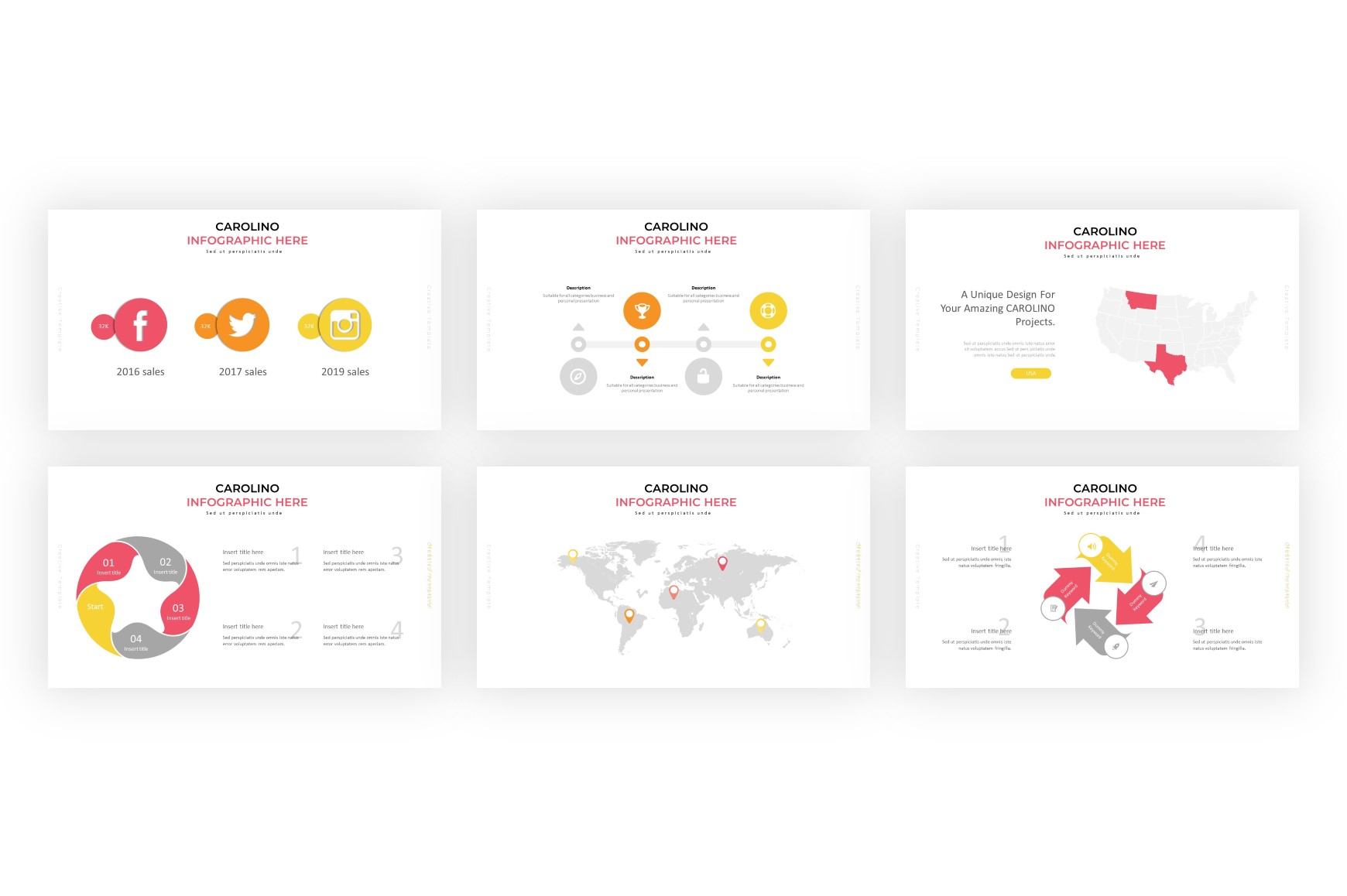Carolino Modern PowerPoint Template