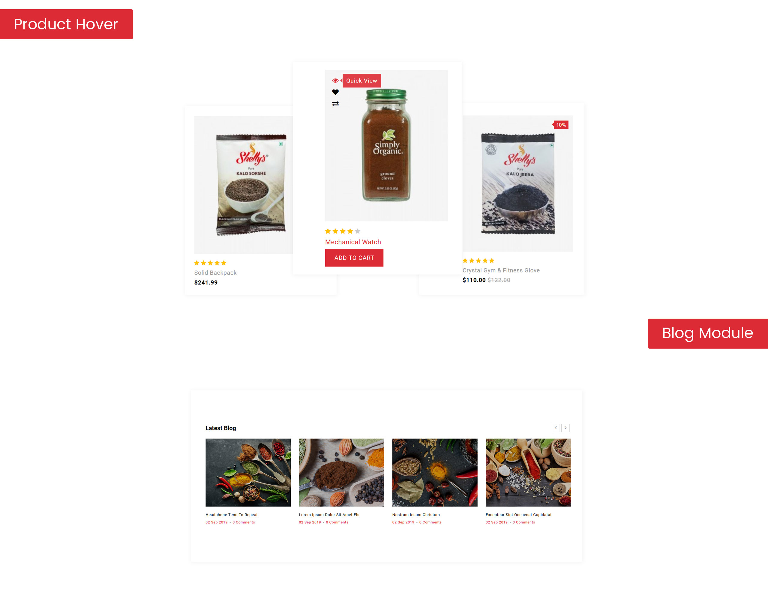 Spicesan - Supermarket Store OpenCart Template