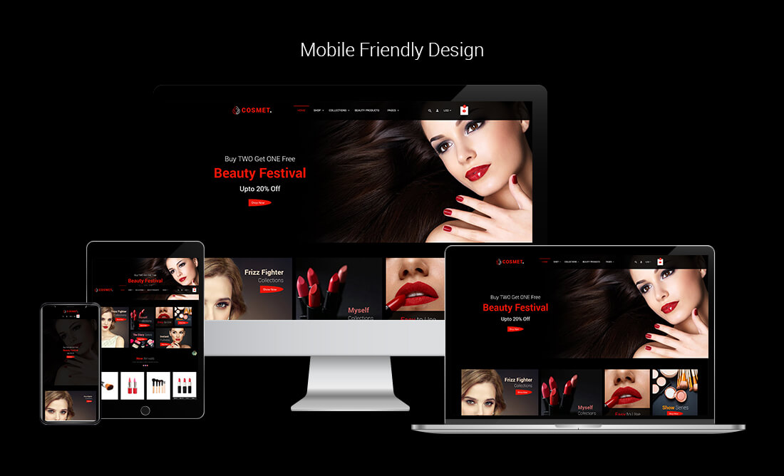 Cosmet | Cosmetic & Beauty Shopify Theme