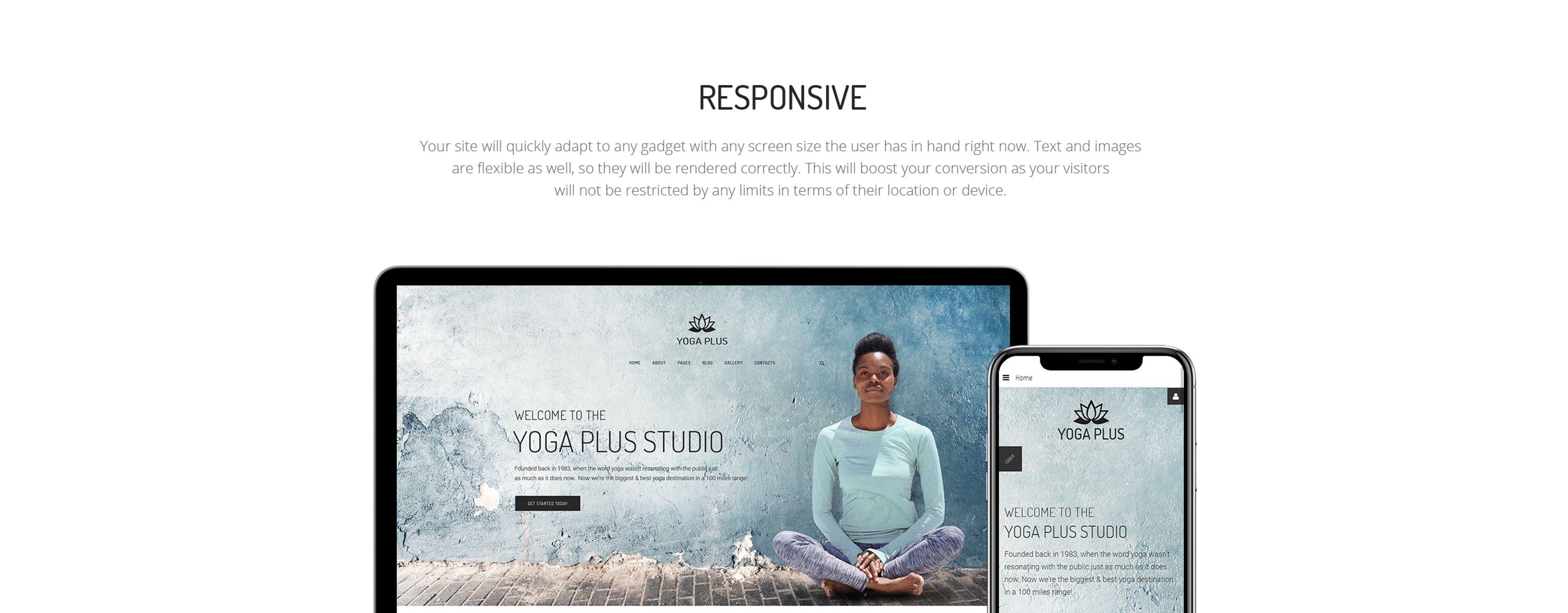 Yoga Plus Joomla Template